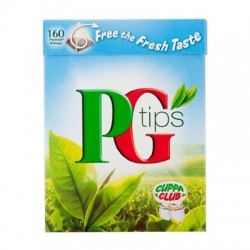 PG TIPS PYRAMID TEA BAGS 160G