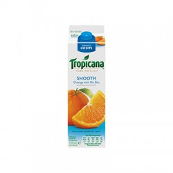 TROPICANA SMOOTH ORANGE JUICE 1L