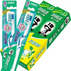 DARLIE TOOTH PASTE 2X250G (2 TOOTHBUSH FREE)