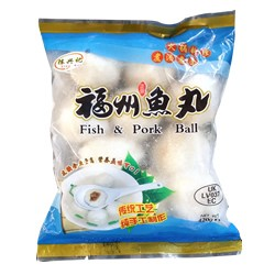 FUZHOU FISH BALL WITH PORK FILLING 420G