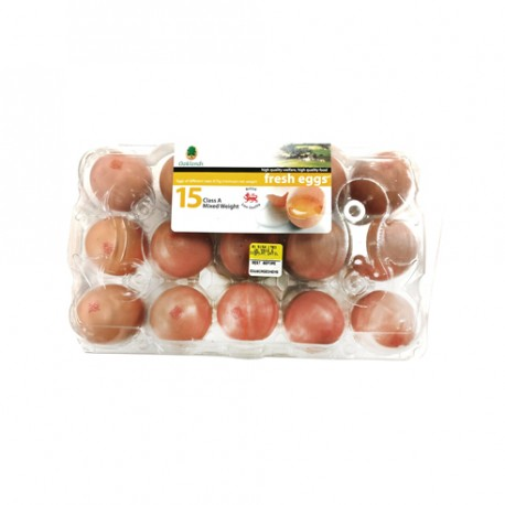 BRITISH LION EGGS - 15 EGGS PREPACK