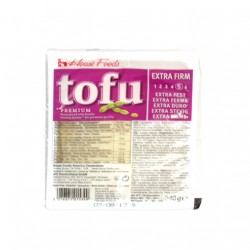 HOUSE PREMIUM TOFU EXTRA FIRM (PURPLE) 400G