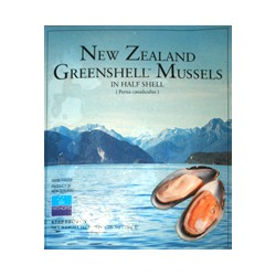 NEW ZEALAND MUSSEL 1/2 SHELL 1KG