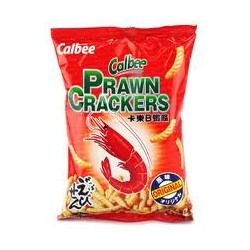 CALBEE PRAWN CRACKER ORIGINAL FLAV 40G