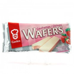 GARDEN WAFER STRAWBERRY FLAVOUR 200G