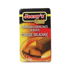 JEENY'S BELACHAN BLOCK-INDONESIAN COOKING PSTE 250G
