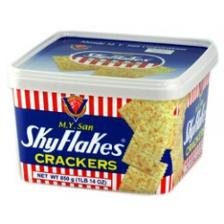 SKYFLAKES BISCUITS (PLASTIC PAIL) 850g