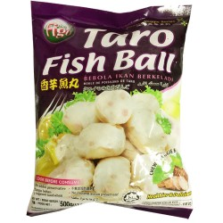 FIGO FROZEN TARO FISH BALL 500G (LONDON ONLY)
