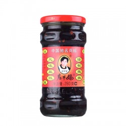 LAO GAN MA PRESERVED BLACK BEANS WITH CHILLI 280G