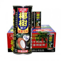 YE SHU COCONUT JUICE IN TIN 30x245ML