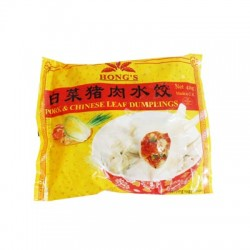 PORK&CHINESE LEAF DUMPLING 410G (LONDON ONLY)