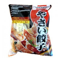 AJINOMOTO CHICKEN AND VEGETABLE GYOZA 600G (LONDON ONLY)