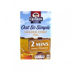 OAT SO SIMPLE GOLDEN SYRUP 50x36G